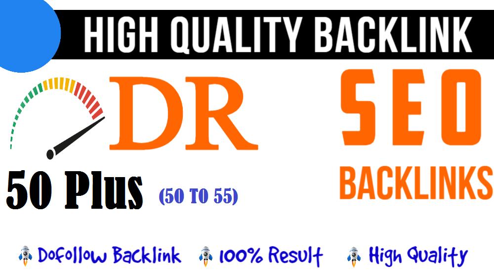 Create 10 High Quality DR 50 Plus Seo PBN Backlinks