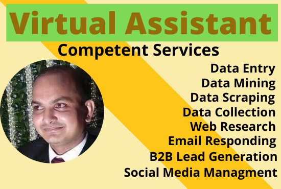 I Will be your competent virtual assistant