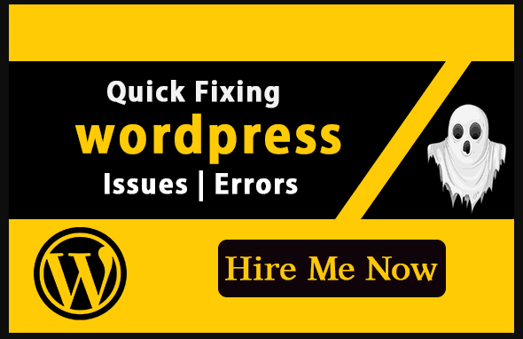 I will fix,  maintain and solve your WordPress website within 24 Hours