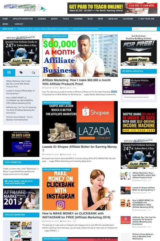 I will install affiliate marketing niche,  diet niche,  news niche WP website in 48 hrs