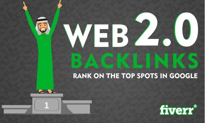 I will build 25 authority web 2 0 backlinks