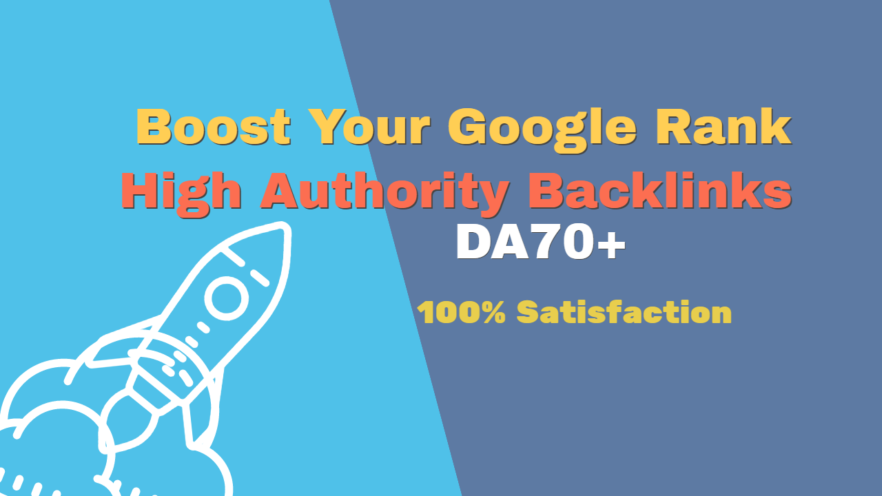 I will Manually Create 30 High Authority Backlinks For Your Google Rank