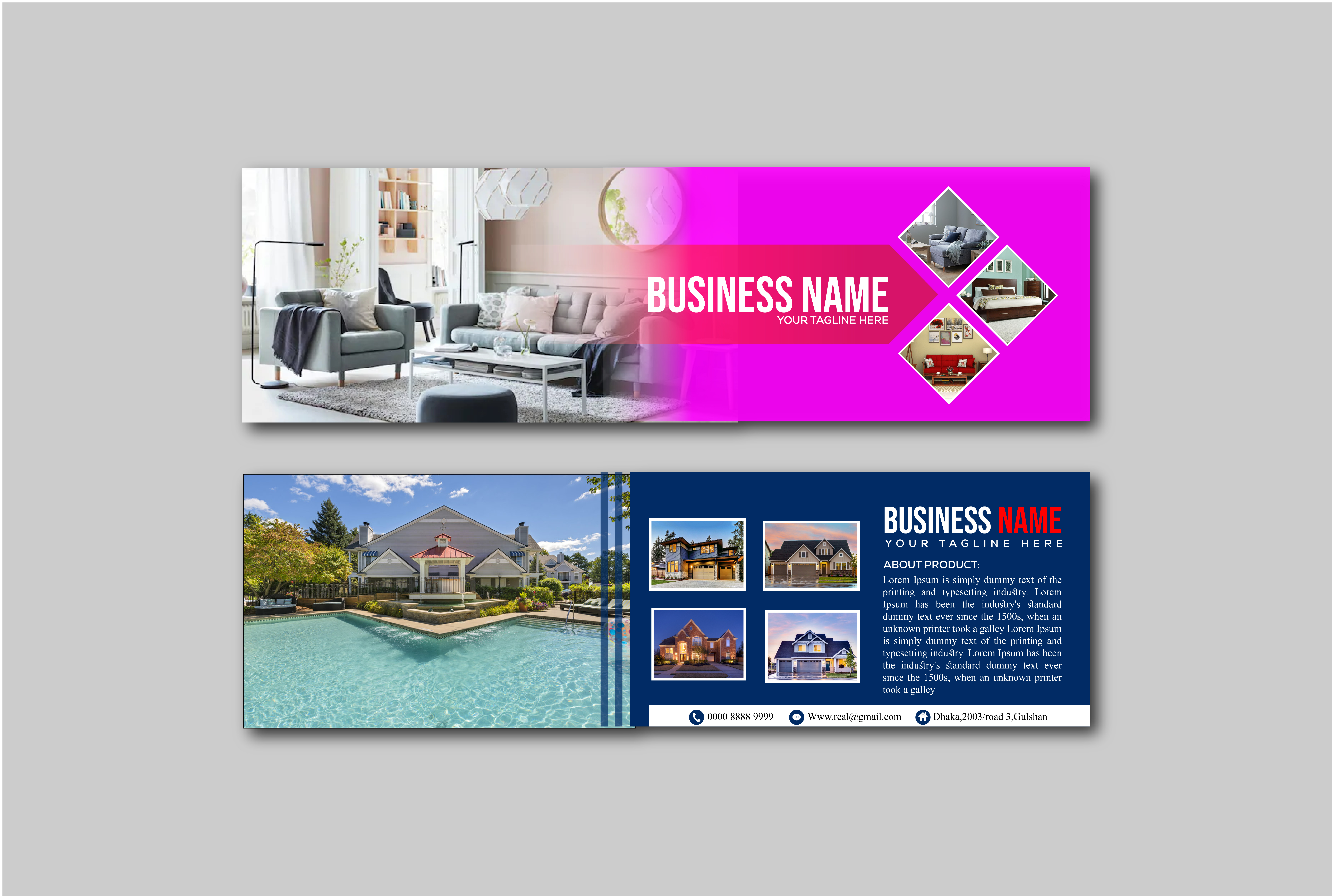 I will do banner,  flyer,  leaflet,  poster or any graphic design