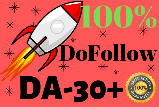 Create 60 DA30+ Only DoFollow Blog comments backlinks