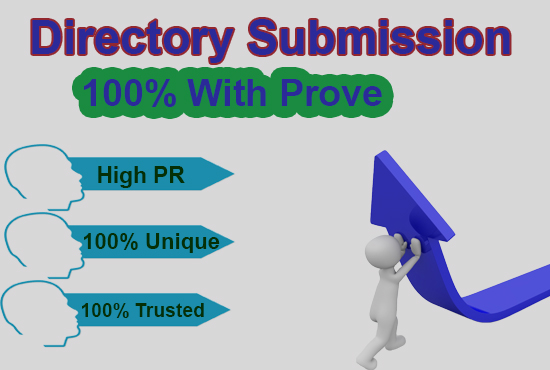 50 High PR Directory submission manually service with prove