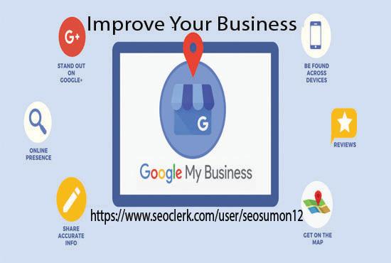 I will create & manage local SEO,  google my business