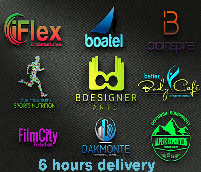 I will design luxury and professional business logo with 6 hours
