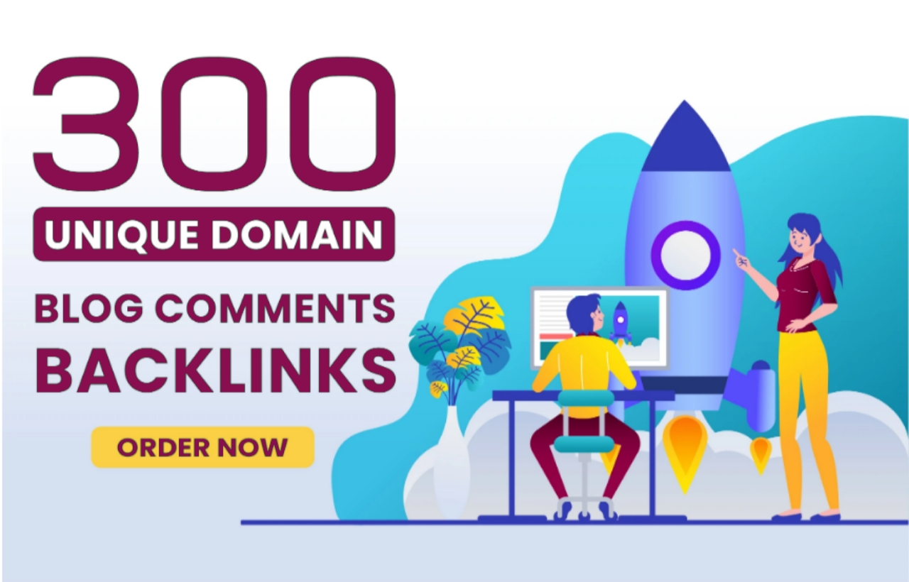 Do make 300 unique domains blog comment backlinks