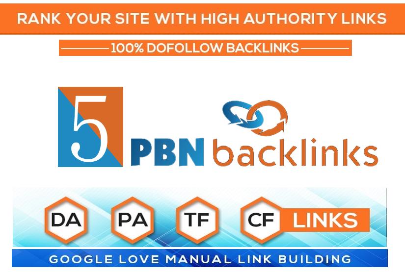 High DA PA TF CF DR PR Homepage Dofollow PBN Backlinks