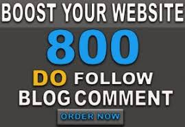 I will 800 high quality dofollow blogcoments backlink and fast delivery