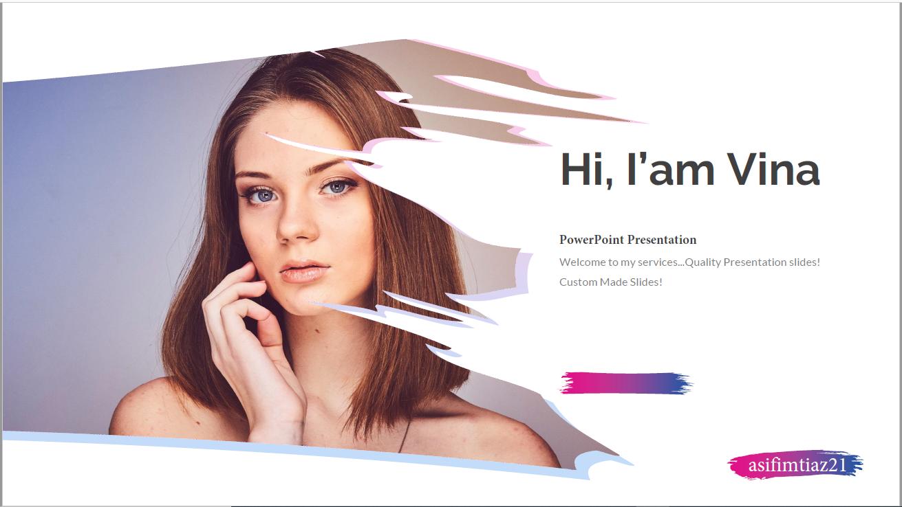I will design creative PowerPoint Presentation Slides