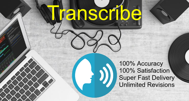 Transcribe 5 minutes of audios and videos quickly