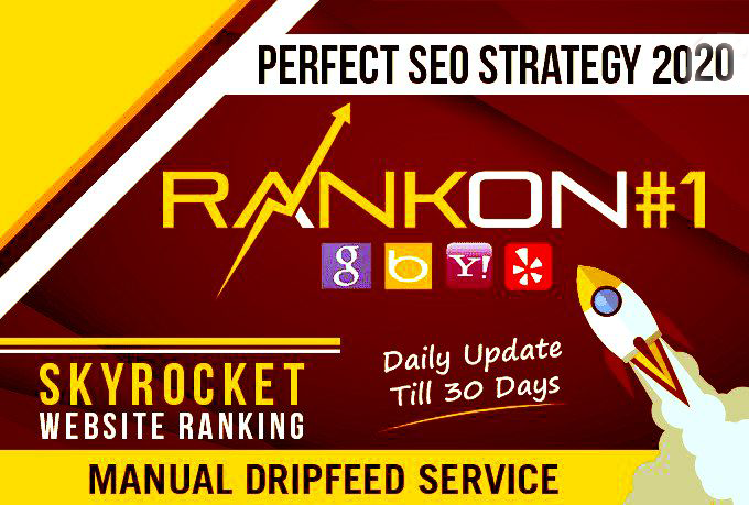 I will rank your site on google with white hat SEO monthly services