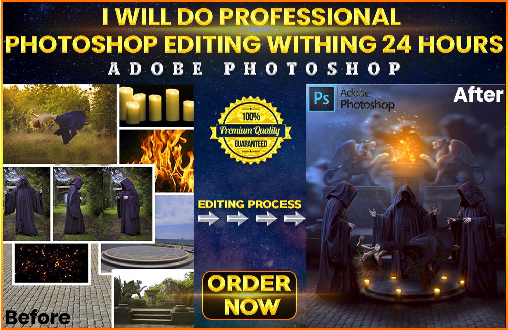 I Will Do Any Photoshop Editing You Need