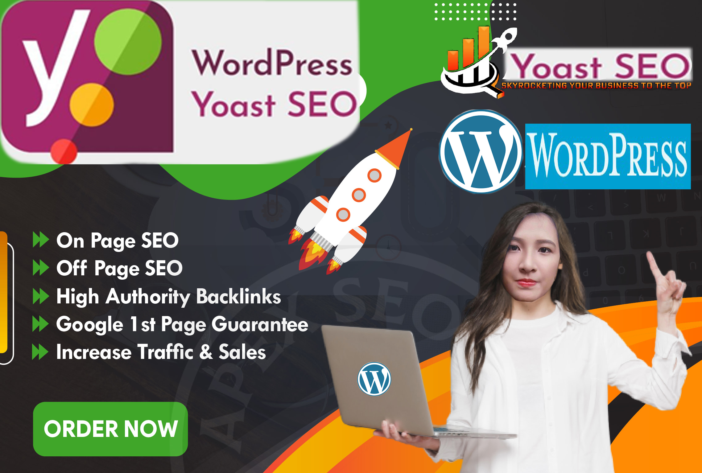 do complete Wordpress SEO for 1st page ranking on google