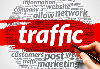 UK Targeted organic Traffic from Social networks to your site