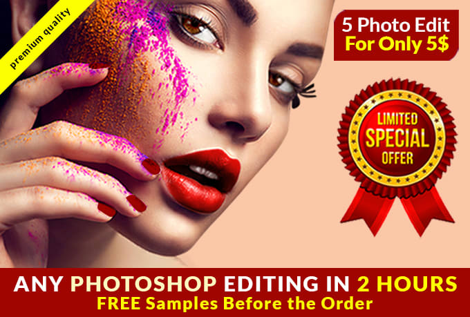 I will do any Photoshop Editing and Photo Retouching