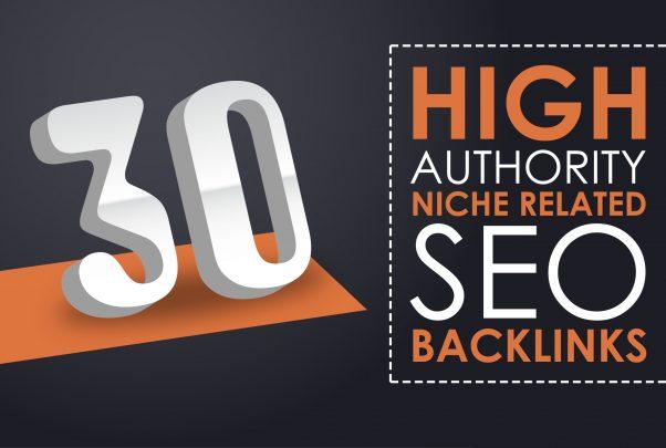 30 Niche Relevant Blog Comments Backlinks