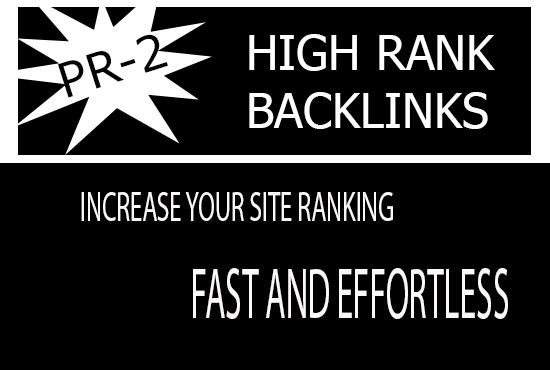 Create 3000 PR-2 to PR-9 HIGH RANK BANKLINKS
