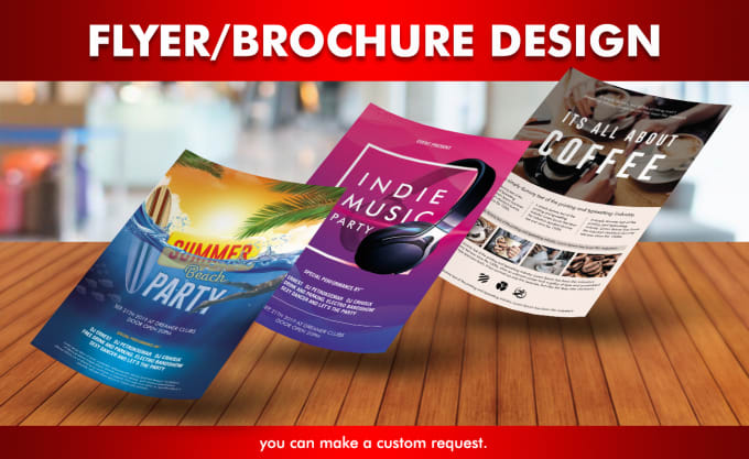 I will create an amazing,  eye catching,  flyer or poster design