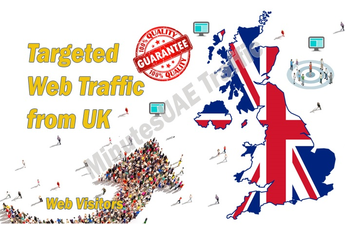 I will send british web visitors to your Site, Blog or Product
