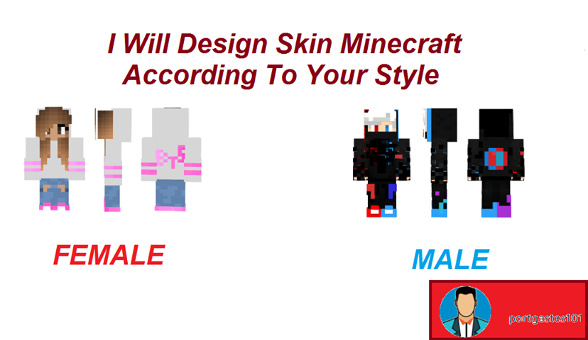 I Will Design Skin Minecraft According To Your Style
