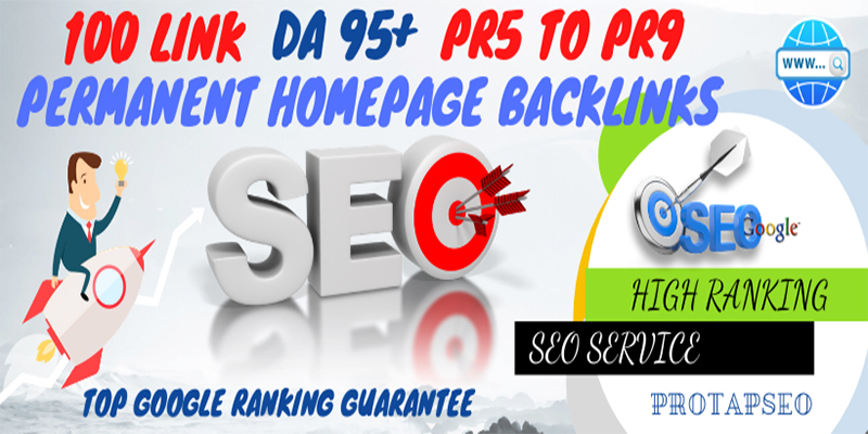 Rank your website with Manually Build 100 Homepage Backlinks from Highly Authorized Google Domain