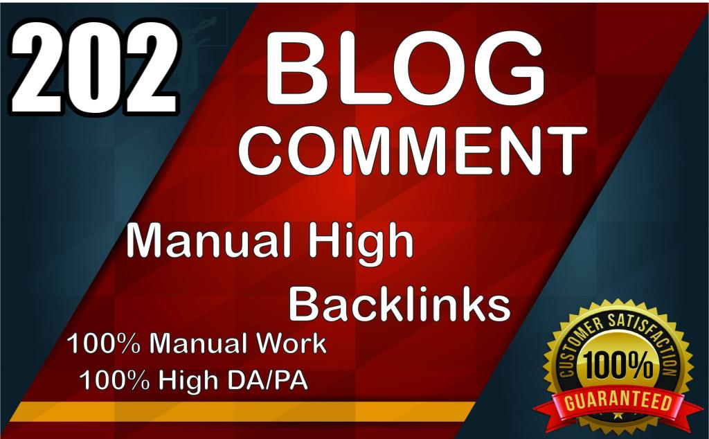 202 blog comment manual high backlinks