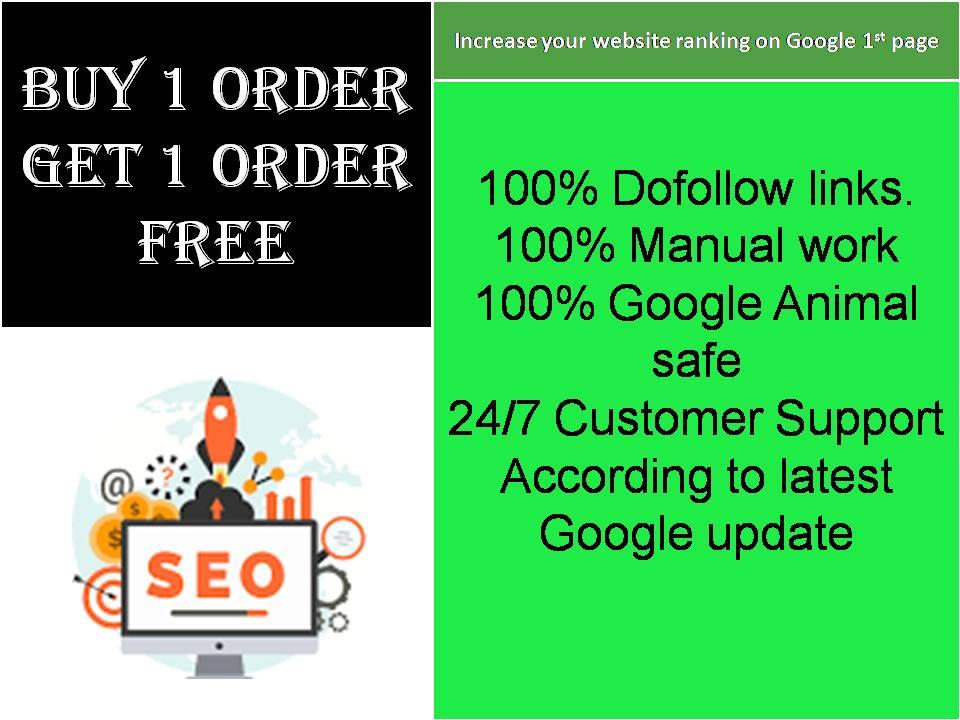I will create 200 unique SEO backlinks with DA 40 to 90+