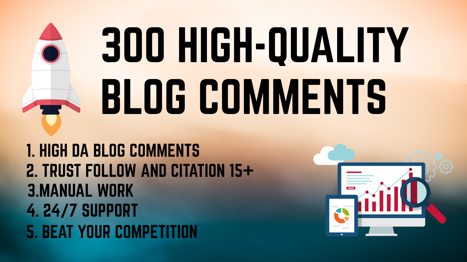 Create 300 blog-comment backlinks