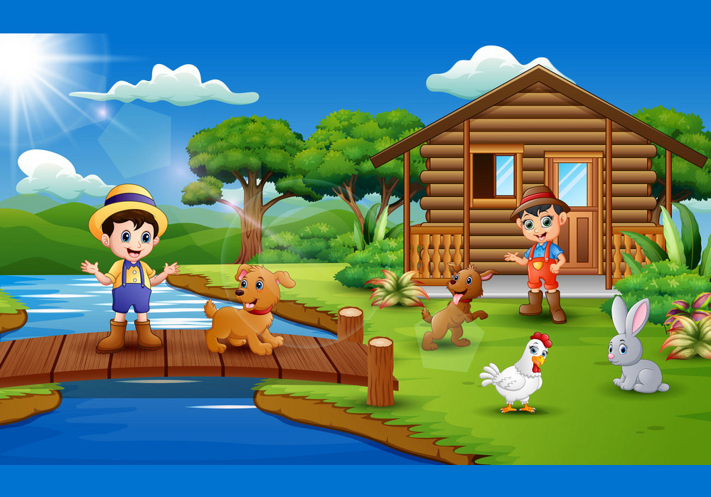 i will draw vector, isometric or colorful illustrations design