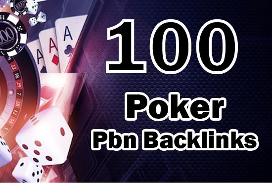 100 Permanent High Quality PBN Backlinks Casino,  Gambling,  Poker,  Judi Related Websites