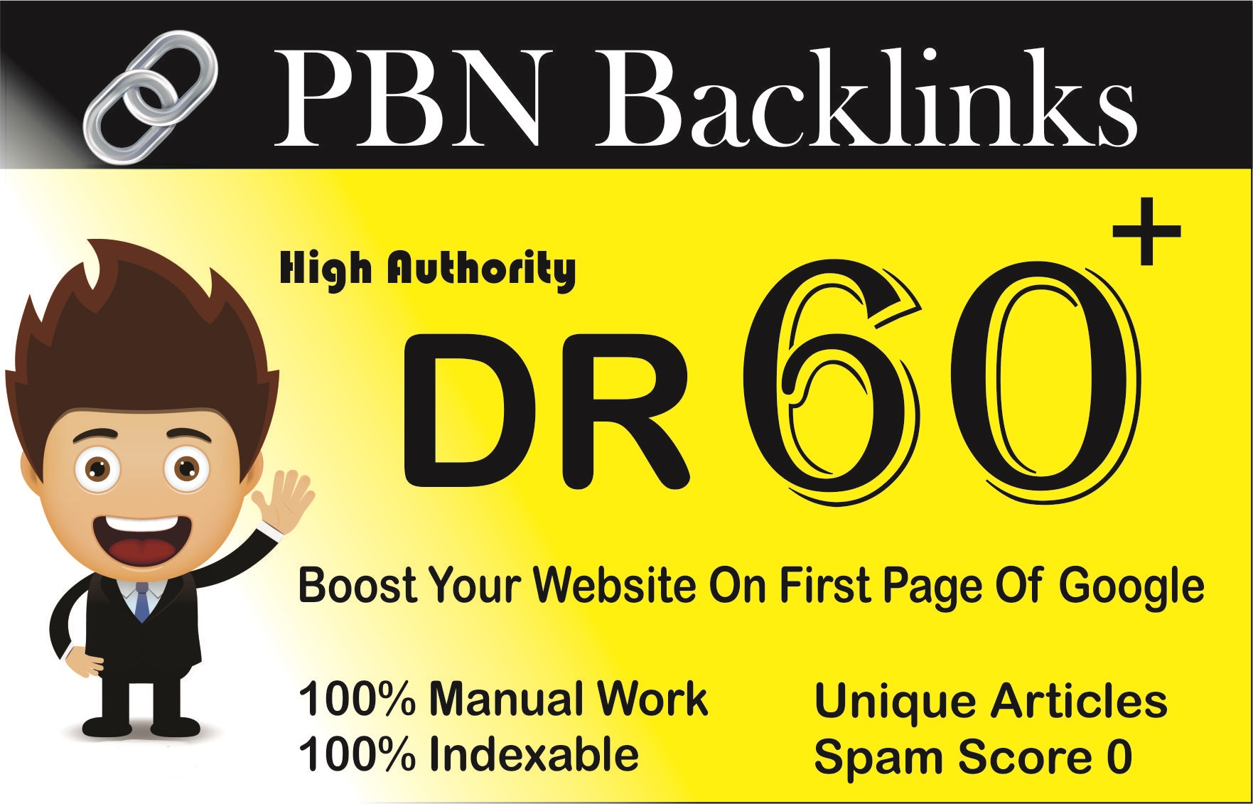 provide 12 DR 60+ pbn homepage dofollow backlinks
