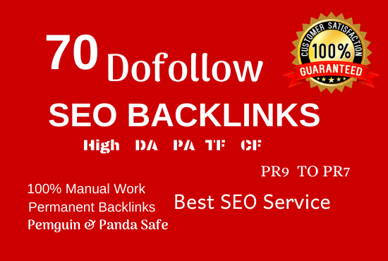 manually create 70+ pr9 da 90 dofollow profile backlinks