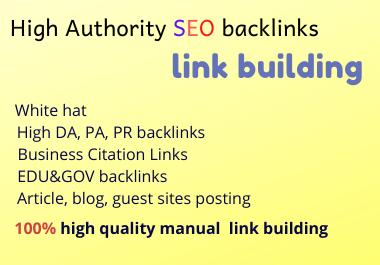 50 high DA dofollow backlinks link building