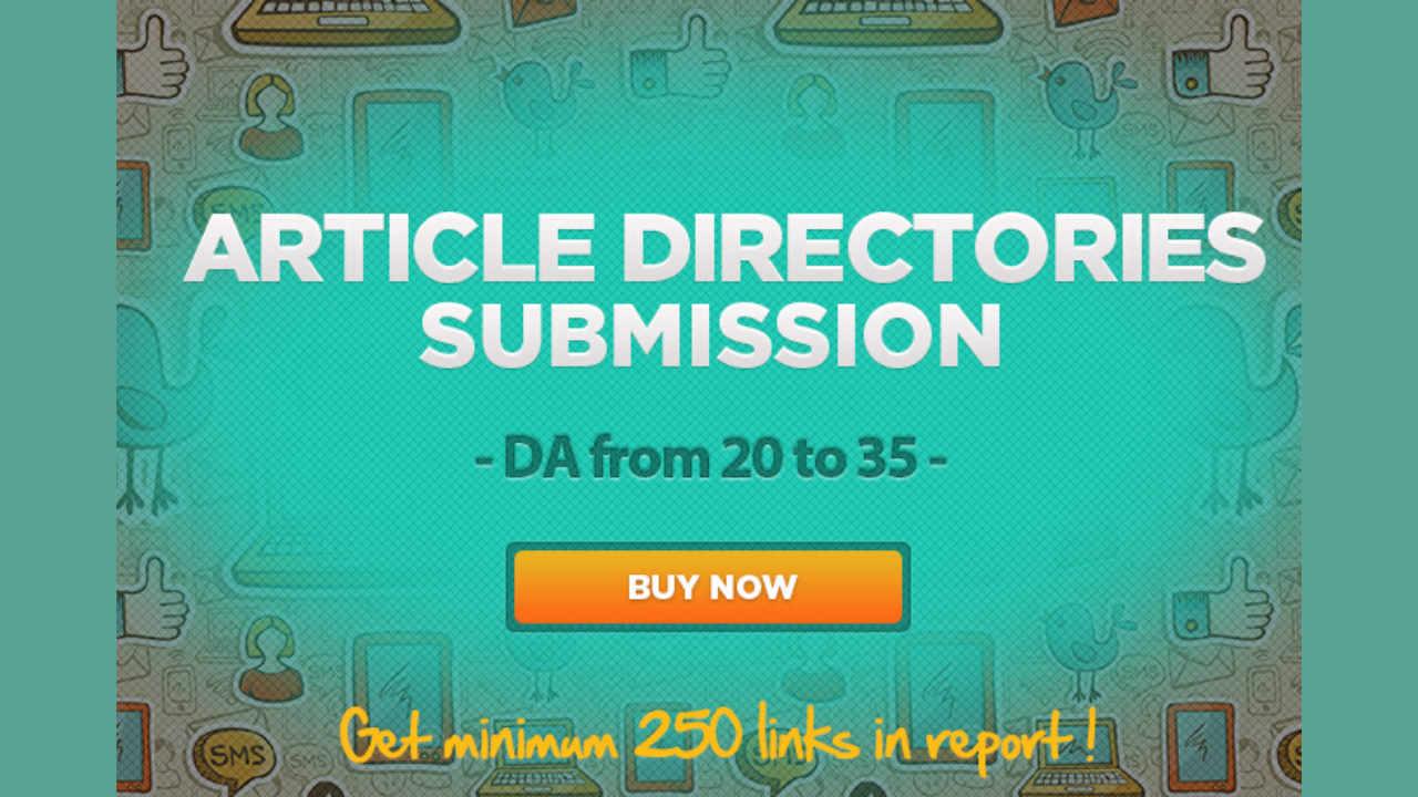 7450 article directories submission High DA DoFollow Backlinks