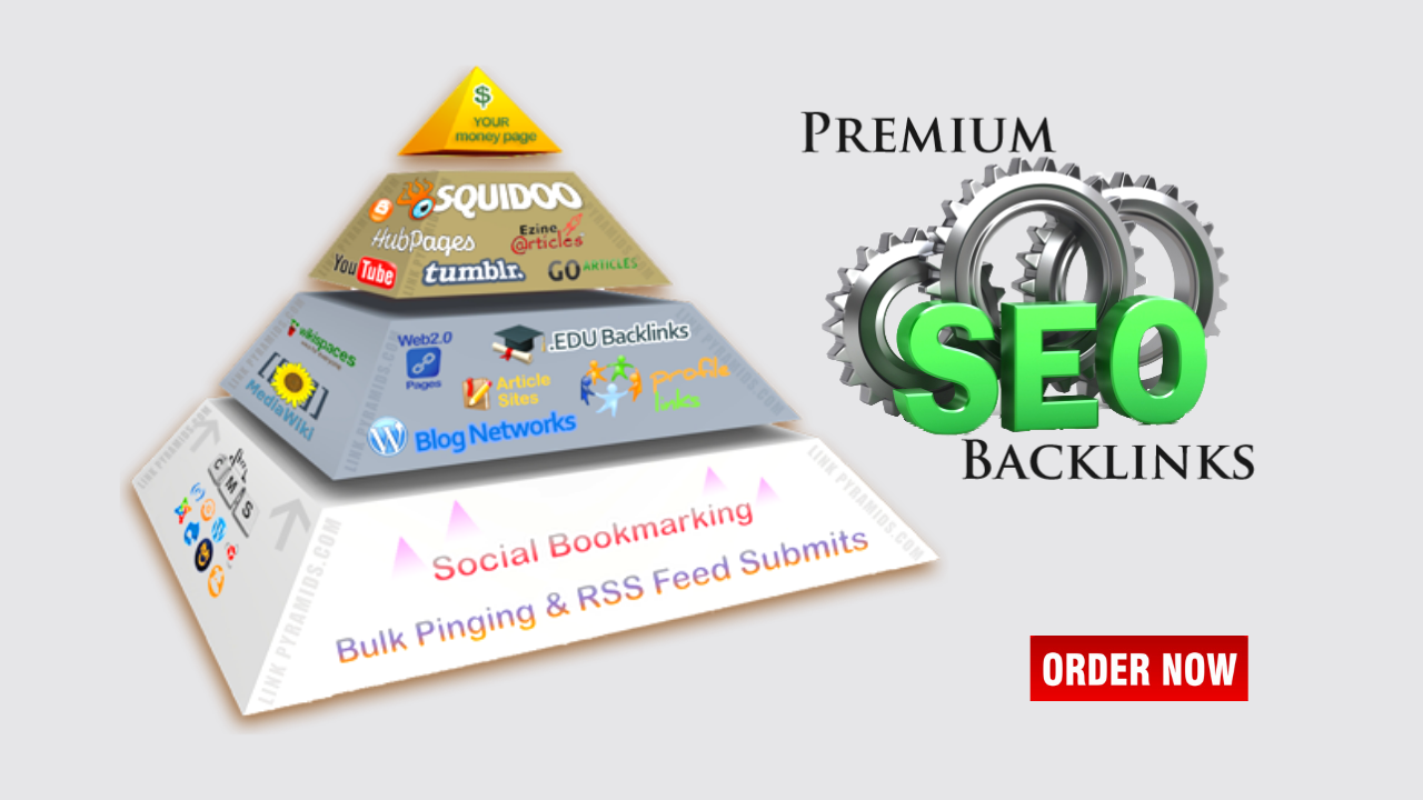Rank Higher On Google With Powerful Link Pyramid SEO Campaign High DA Backlinks