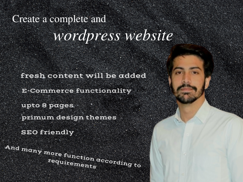 I will build responsive wordpress WooCommerce site for you