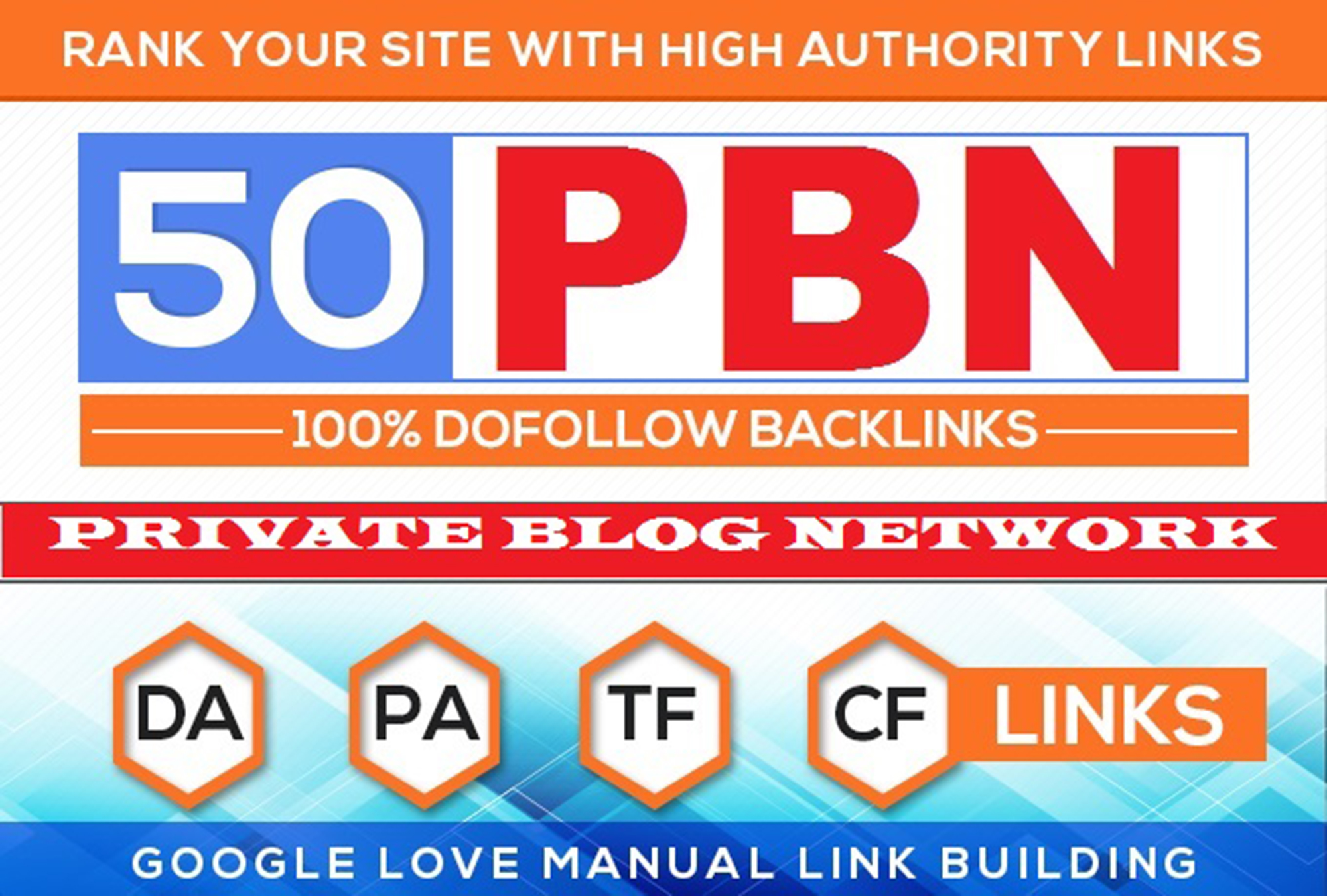 Build 50 High PA DA TF CF HomePage PBN Backlinks - Dofollow Quality Link