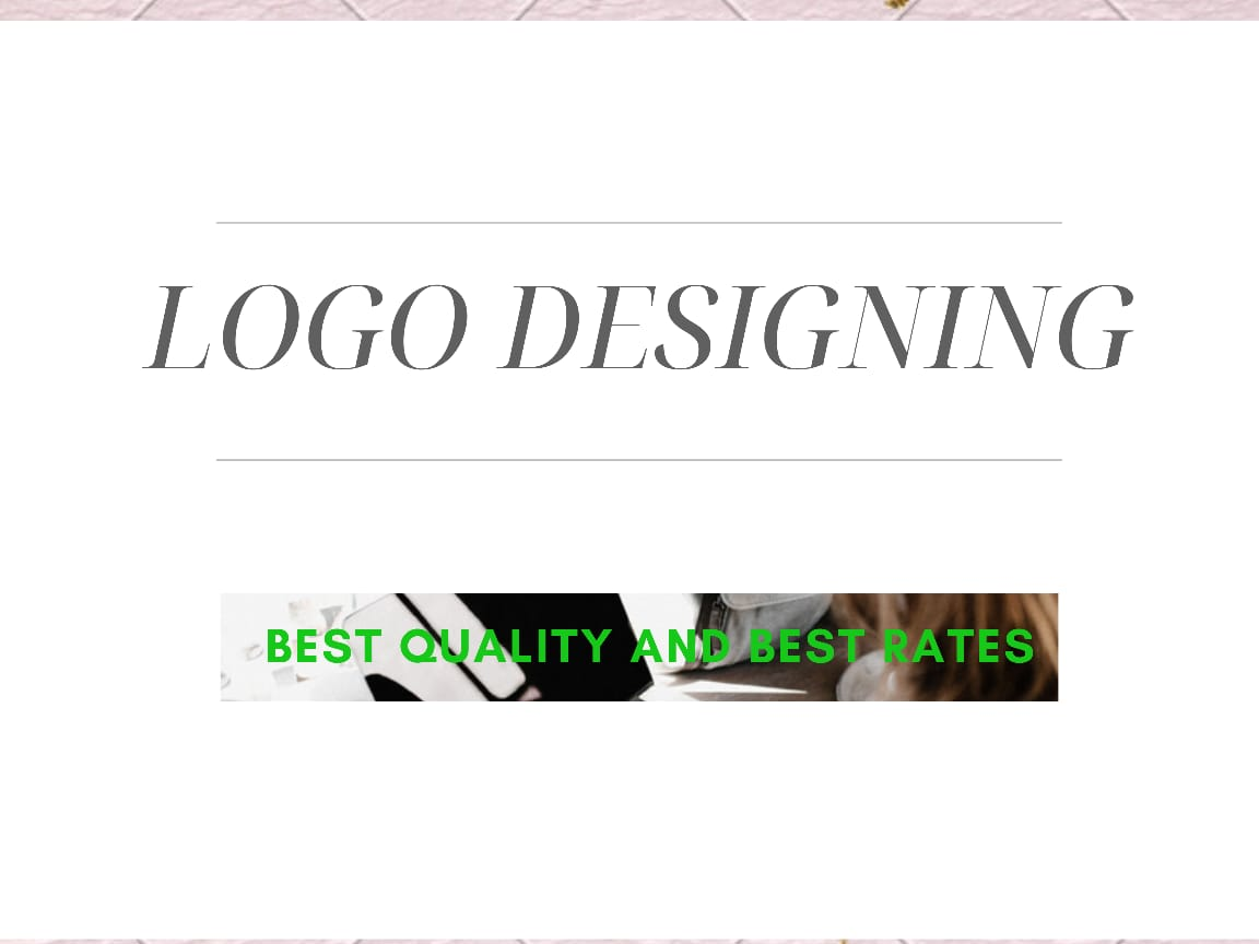 I am a professional logo designer and will provide best designs for your company and business