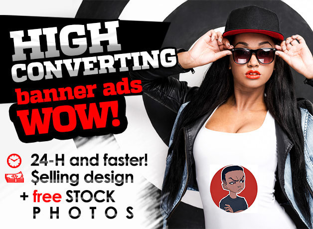 I will design wow banner ad,  facebook banner ad,  ig ad banner in less than 5Hours