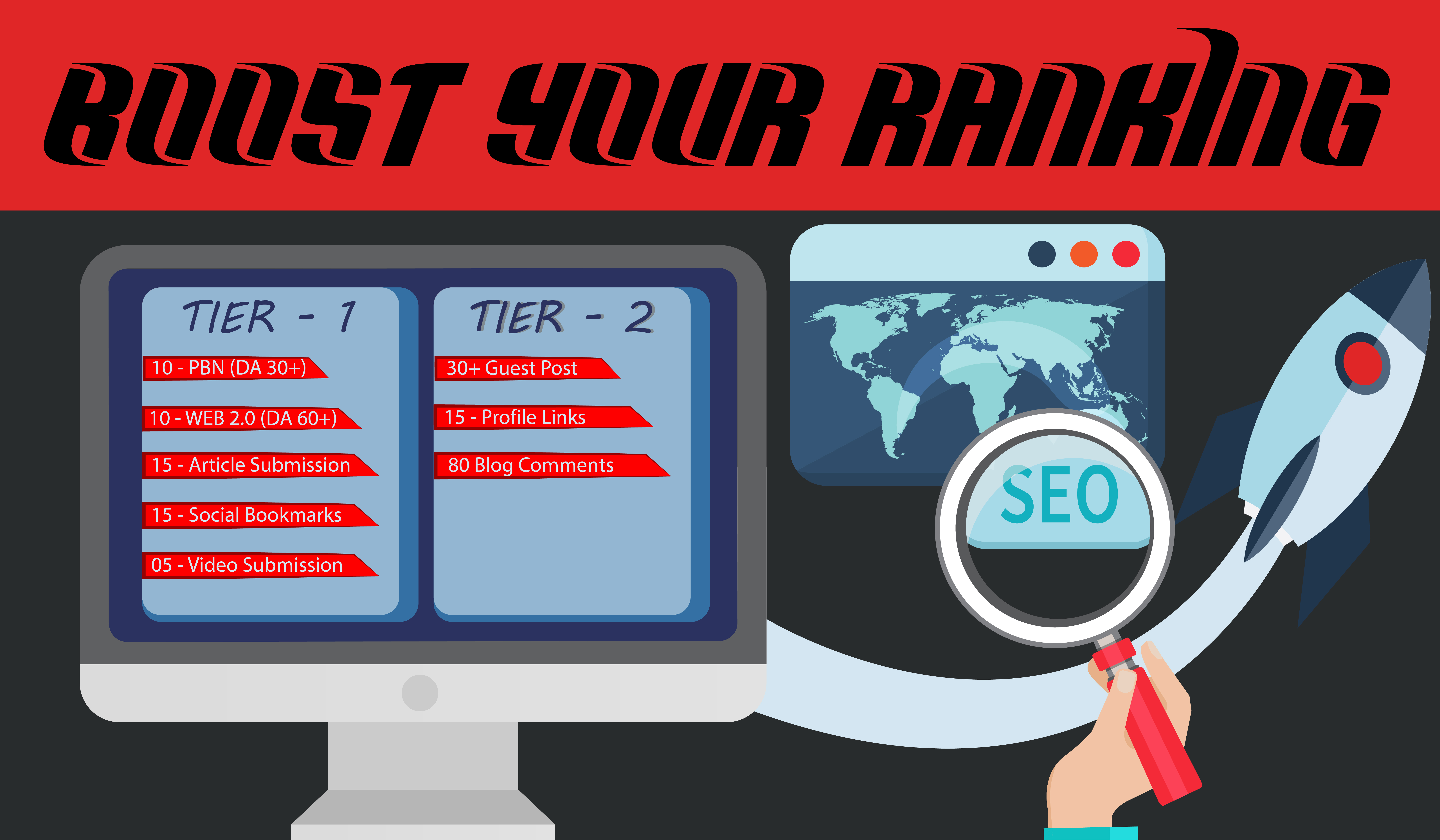 Boost your ranking with niches backlinks
