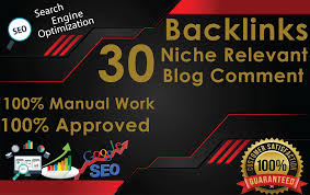 I will provide 30 niche relevant blog comments