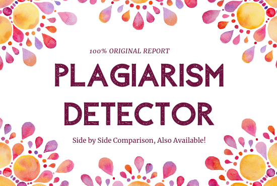i will check plagiarism in your research paper or articles