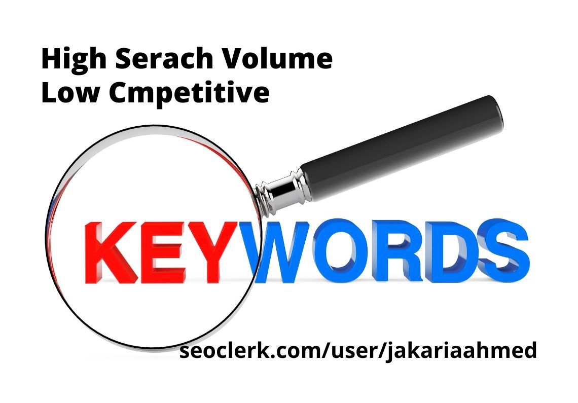 I will do advanced keyword research and competitors analysis for your Niche or website