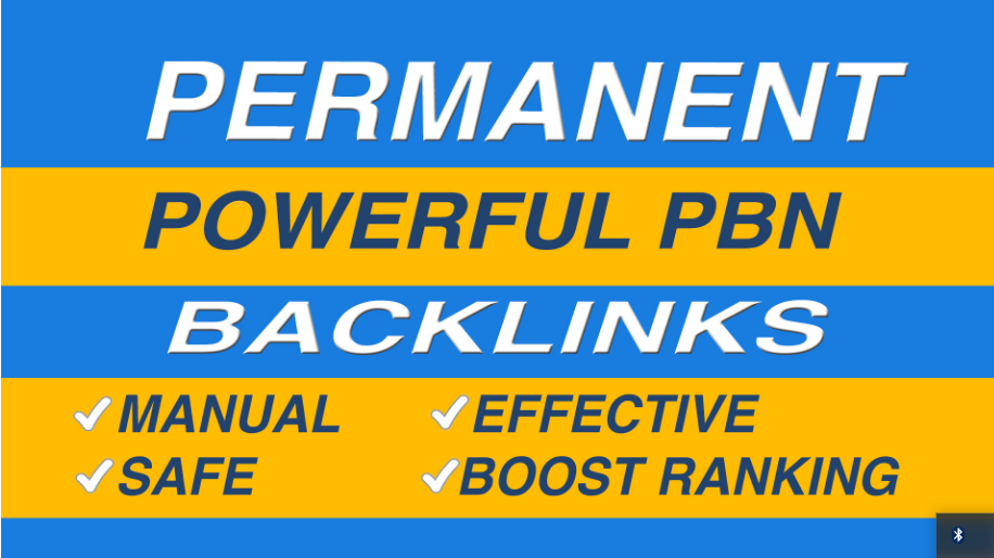 Get 100 powerful dofollow da pa permanent pbn links