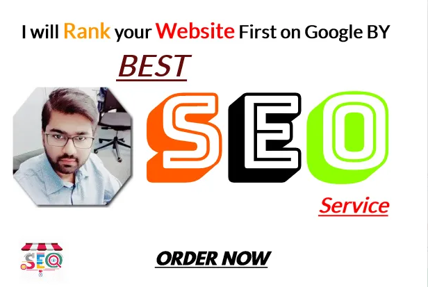I will rank your website 1st on google by best SEO service and backlinks