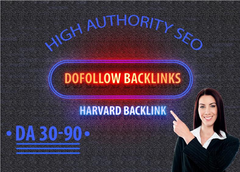 I will high quality seo dofollow manual authority backlinks