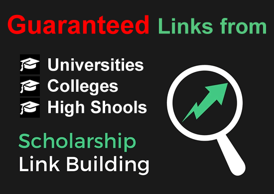 5 x Edu Scholarship Links from Colleges and Universities