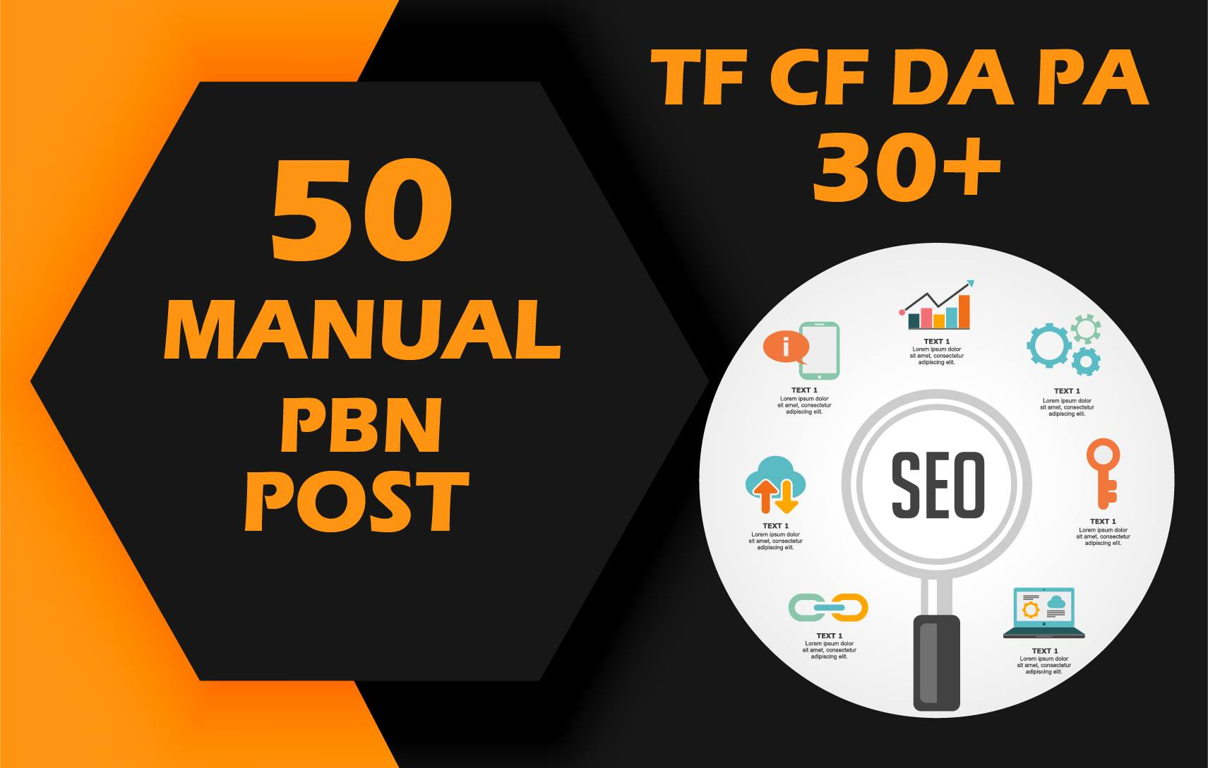 provide 50 manual pbn post with high da pa live link